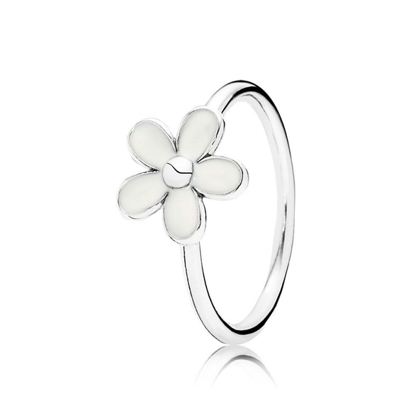 NIB Pandora Sterling Silver Daisy Ring Size 8/56